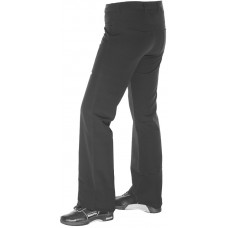 Ladies Black Balance Plus Curling Jeans